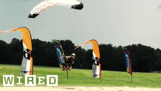 การกระโดดร่มของ Insane 'การกระโดดร่ม' ทำให้การกระโดดของคุณเป็นแบบ Land